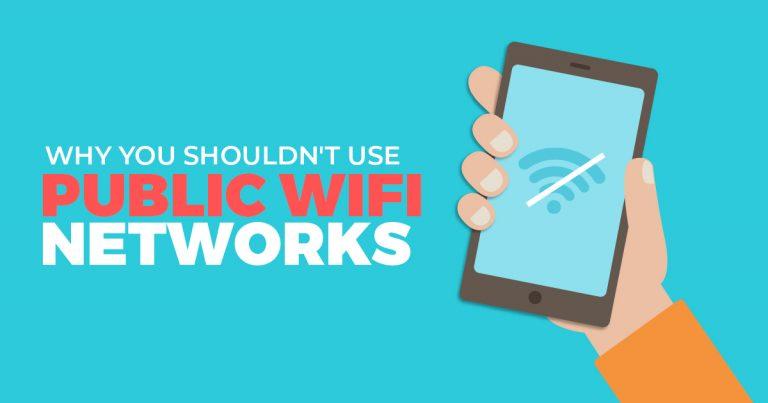 Waarom zou u geen openbare WiFi-netwerken moeten gebruiken?