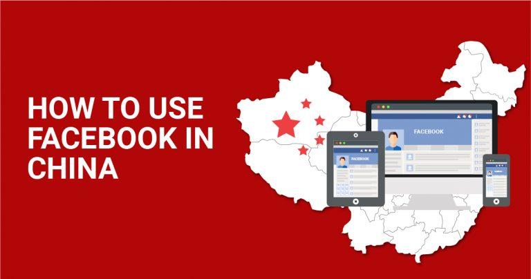 Hoe kunt u  Facebook gebruiken in China