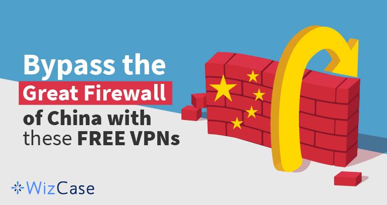 De 4 beste GRATIS VPN's voor China in 2020 (werkt op iPhone, Android en meer)