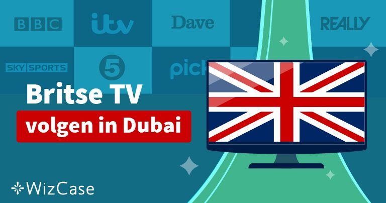 Britse TV volgen in Dubai