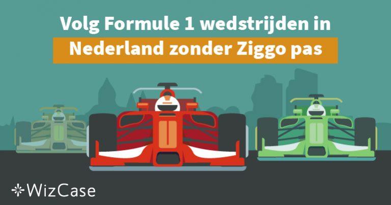Volg Formule 1 wedstrijden in Nederland zonder Ziggo pas