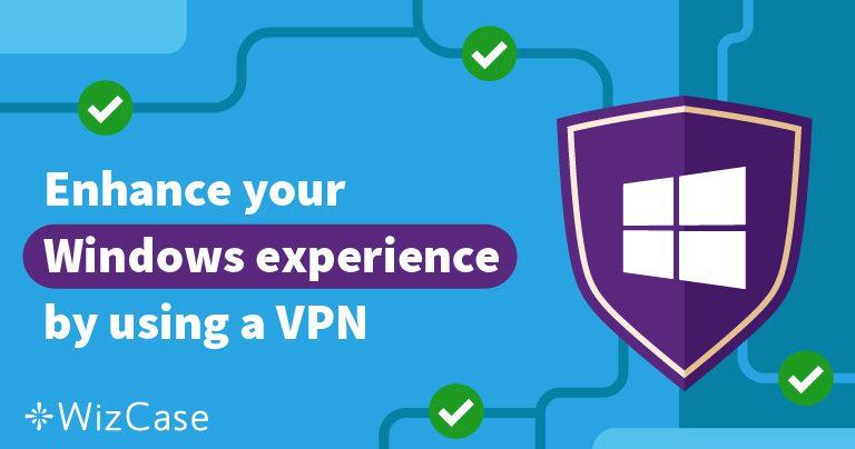 De 5 beste VPN's om in combinatie met Windows 7, 8 en 10+ te gebruiken – installatiehandleiding