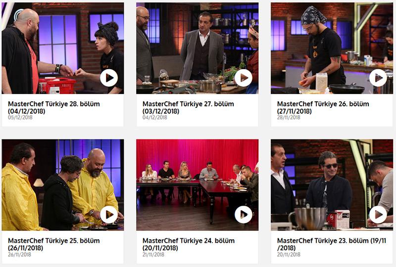 MasterChef Turkey online VPN stream