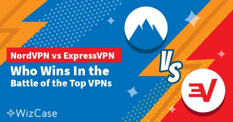 Review van ExpressVPN vs NordVPN in 2021: nieuwste tests!