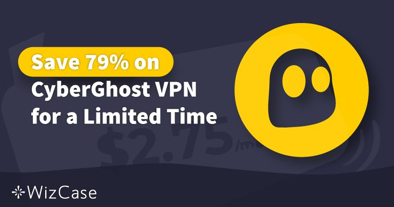 Geldige CyberGhost VPN Coupon 2020: bespaar vandaag tot 79%