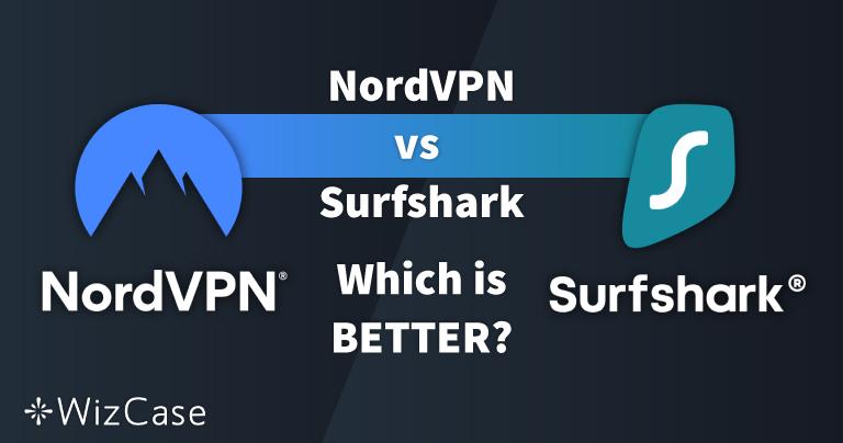 NordVPN vs. Surfshark: 13 vergelijkingstests, 1 winnaar in 2021