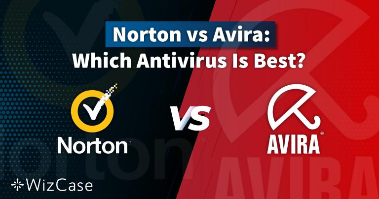 Norton vs Avira 2021: slechts één is je geld waard